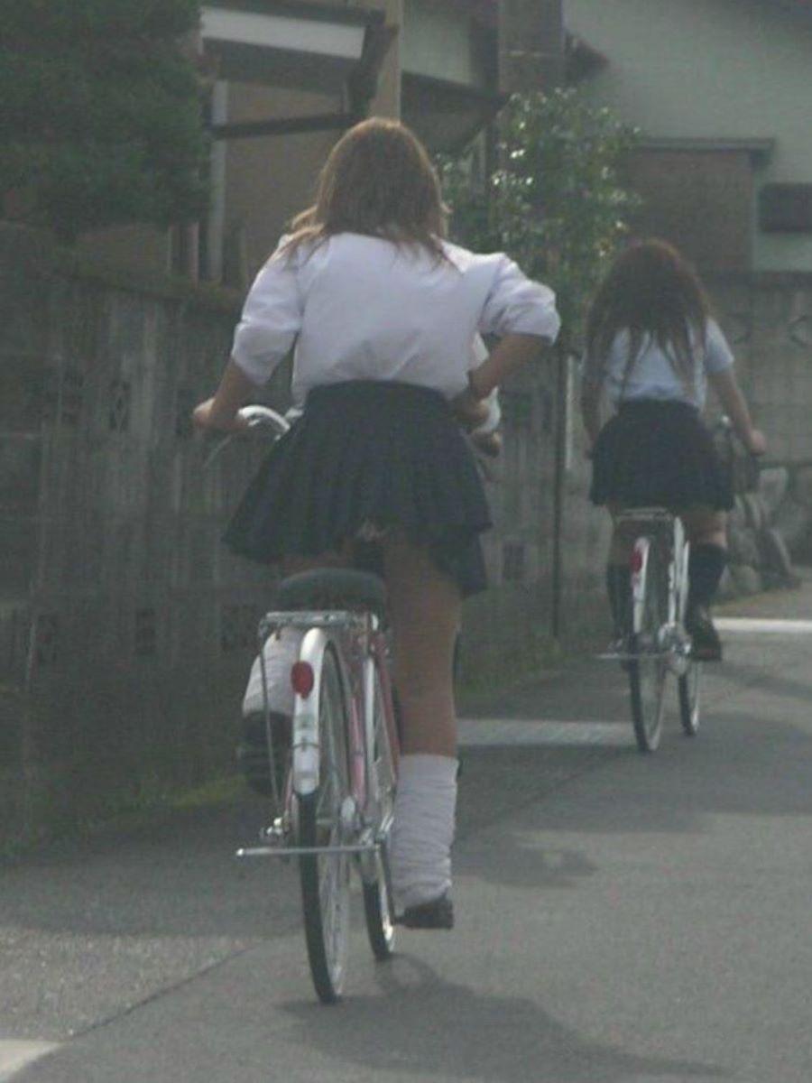 JK 自転車パンチラ画像 107