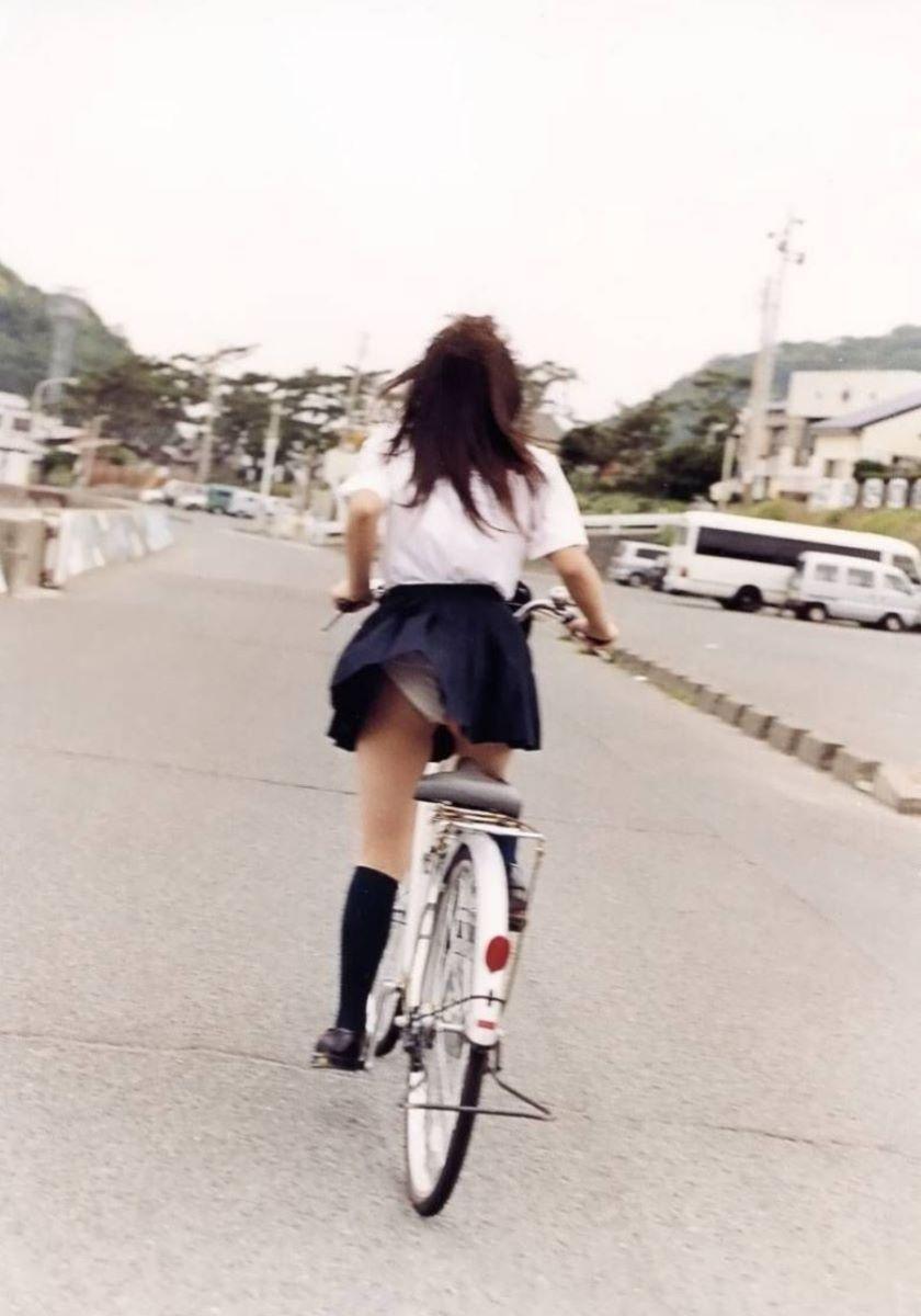 JK 自転車パンチラ画像 114