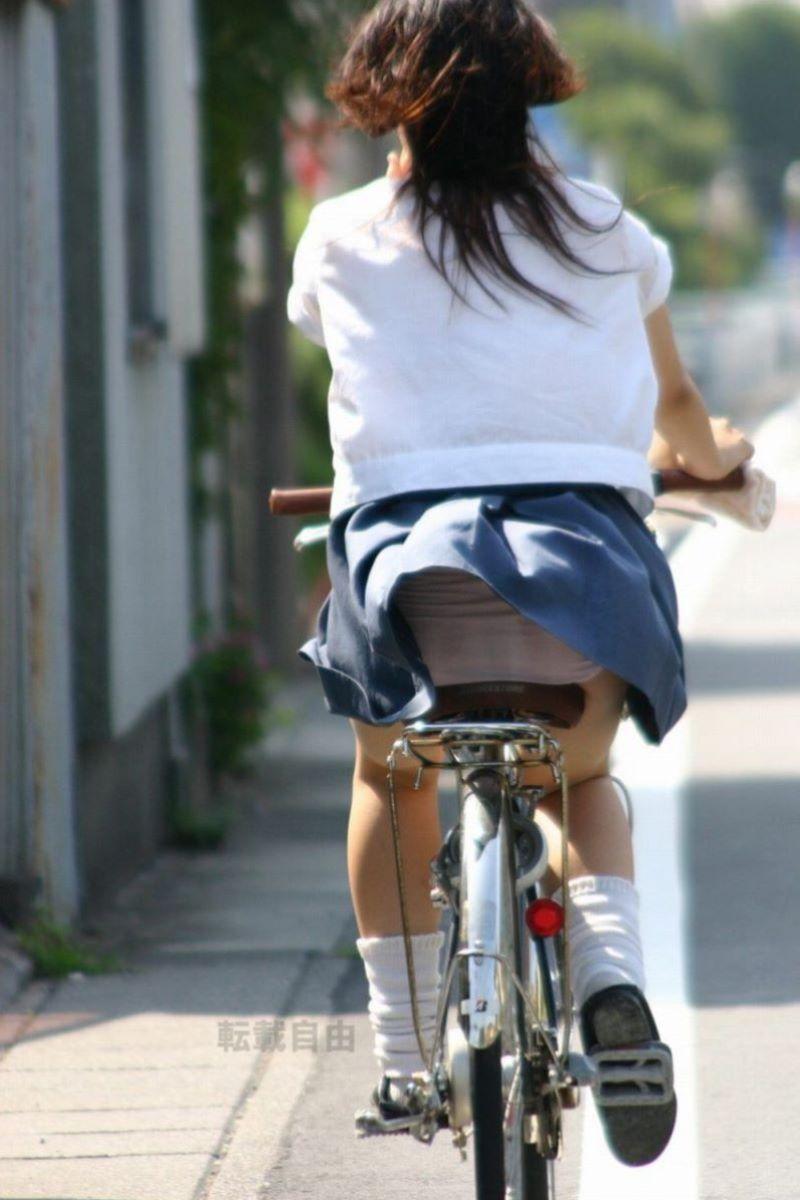 JK 自転車パンチラ画像 115
