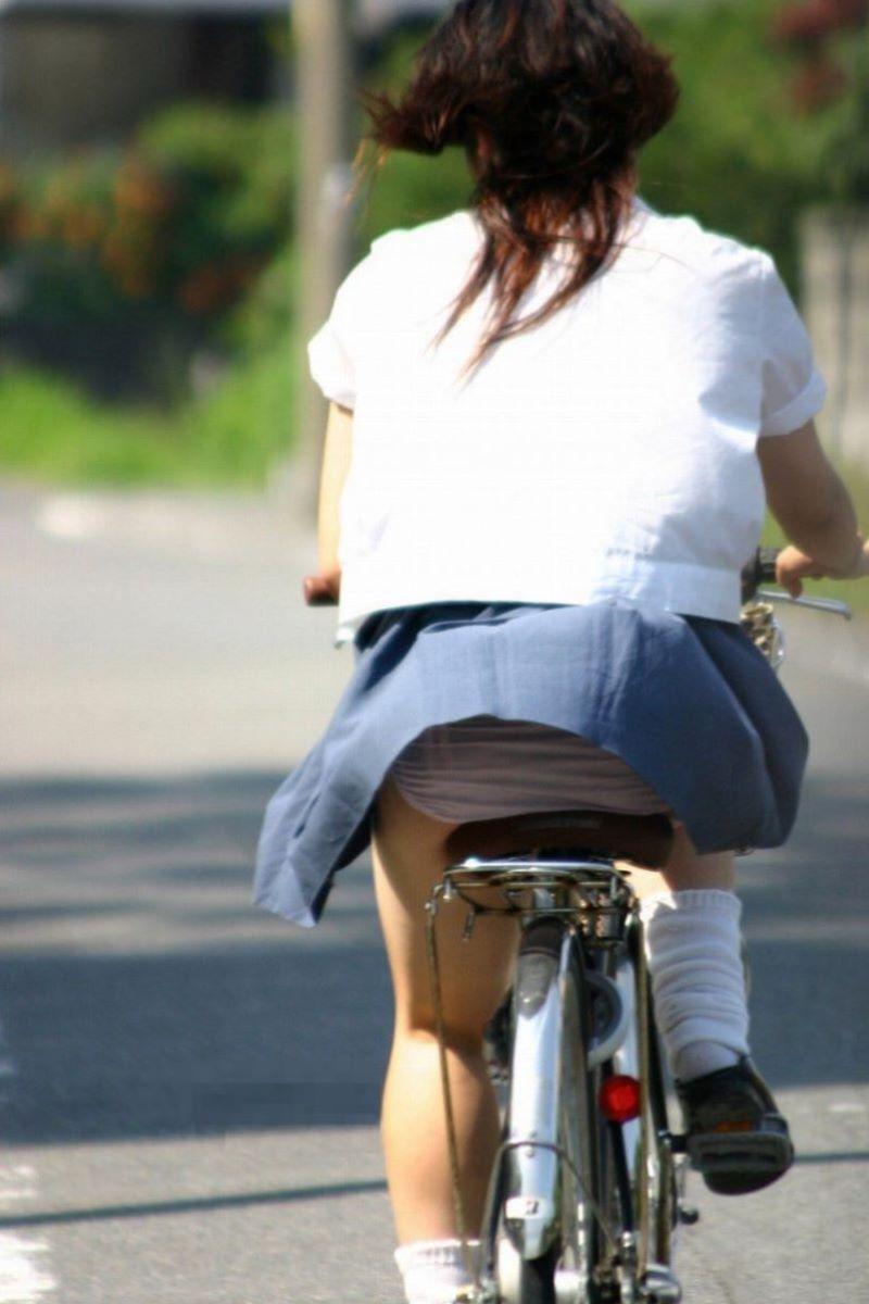JK 自転車パンチラ画像 116