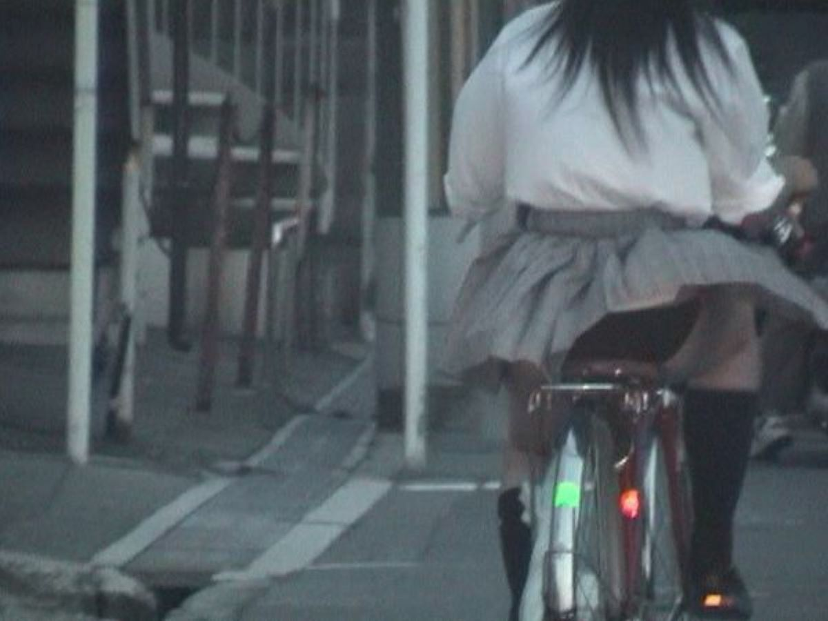 JK 自転車パンチラ画像 120