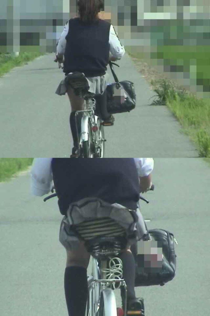 JK 自転車パンチラ画像 121