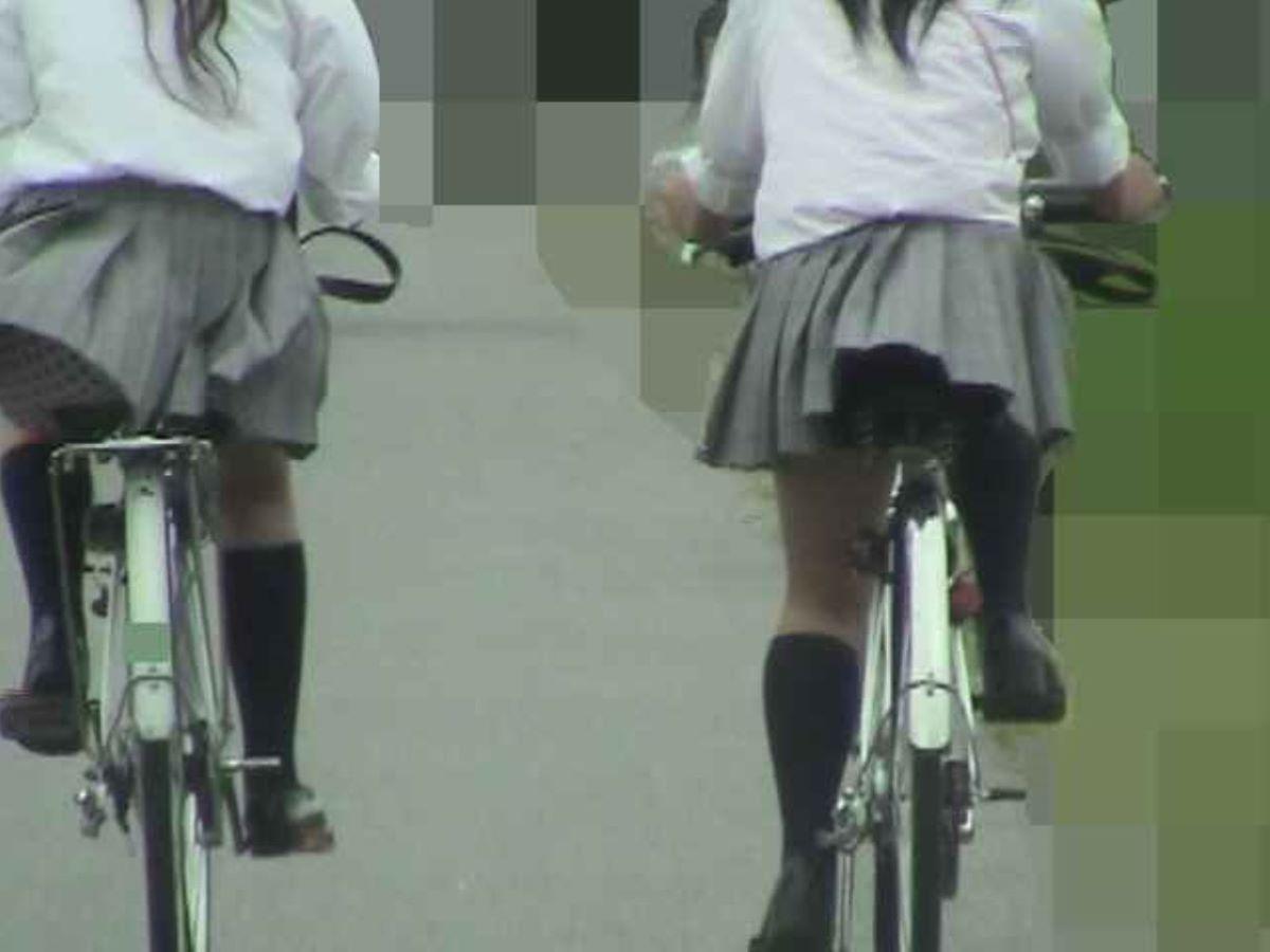 JK 自転車パンチラ画像 127