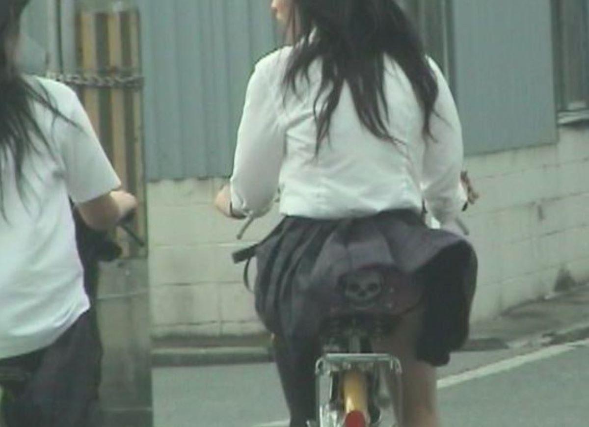 JK 自転車パンチラ画像 128