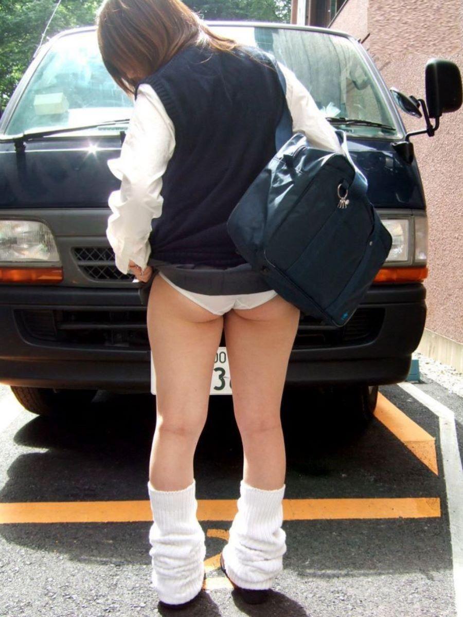 制服JK スカートめくり 画像 62