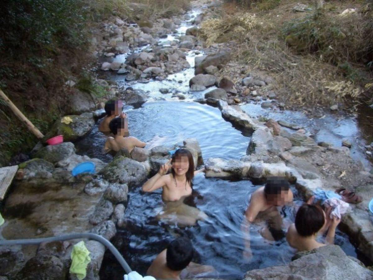 温泉旅行 素人ヌード画像 7