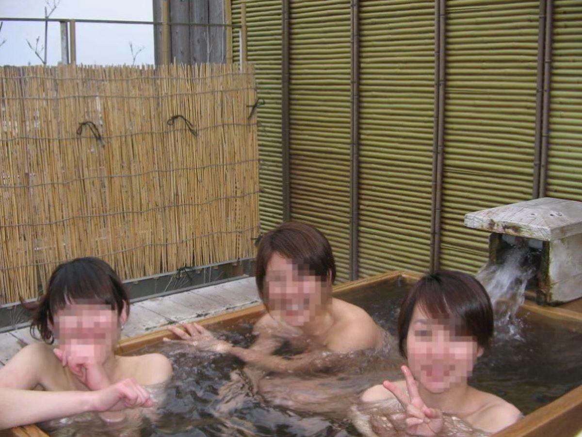 温泉旅行 素人ヌード画像 12
