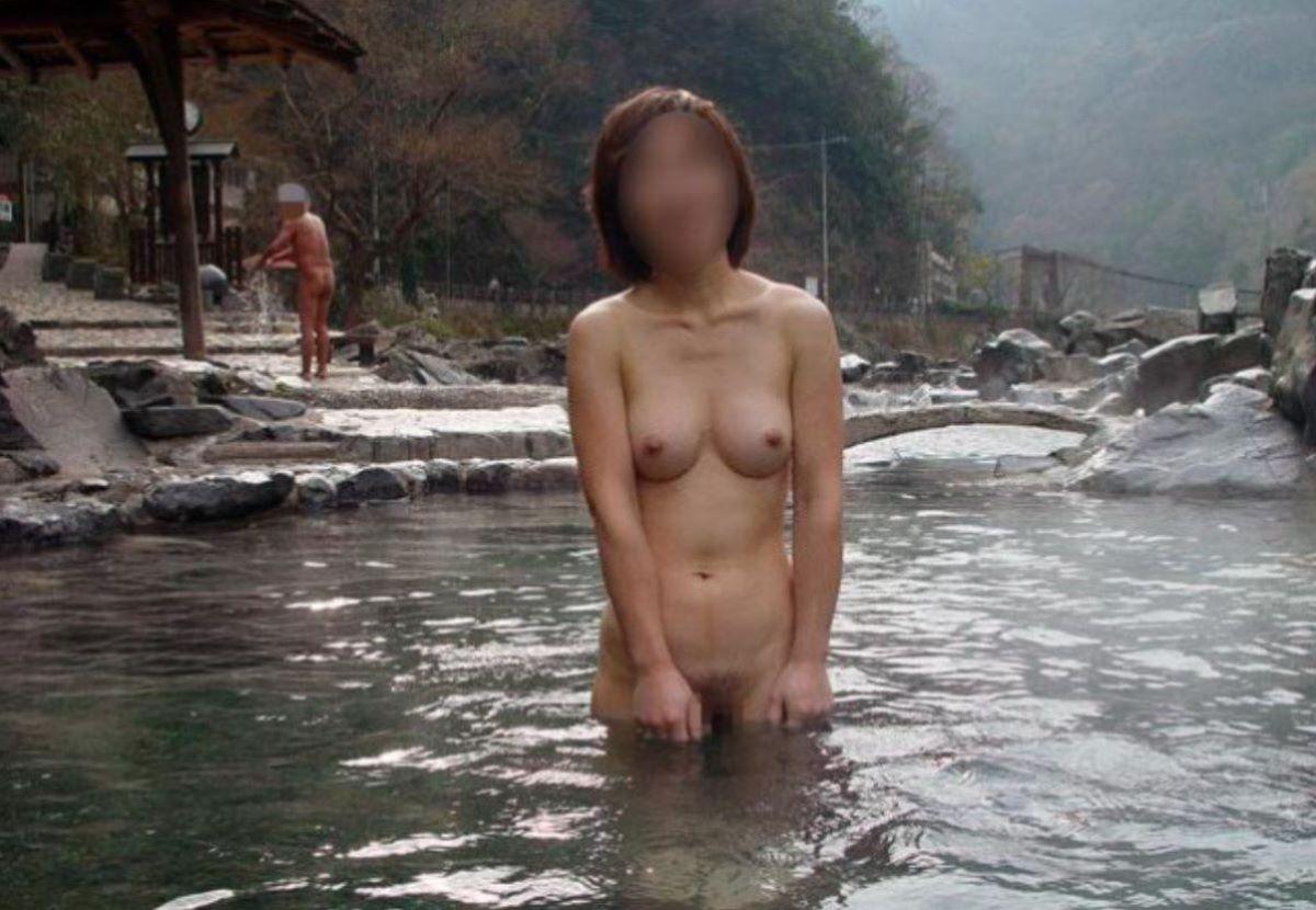 温泉旅行 素人ヌード画像 31