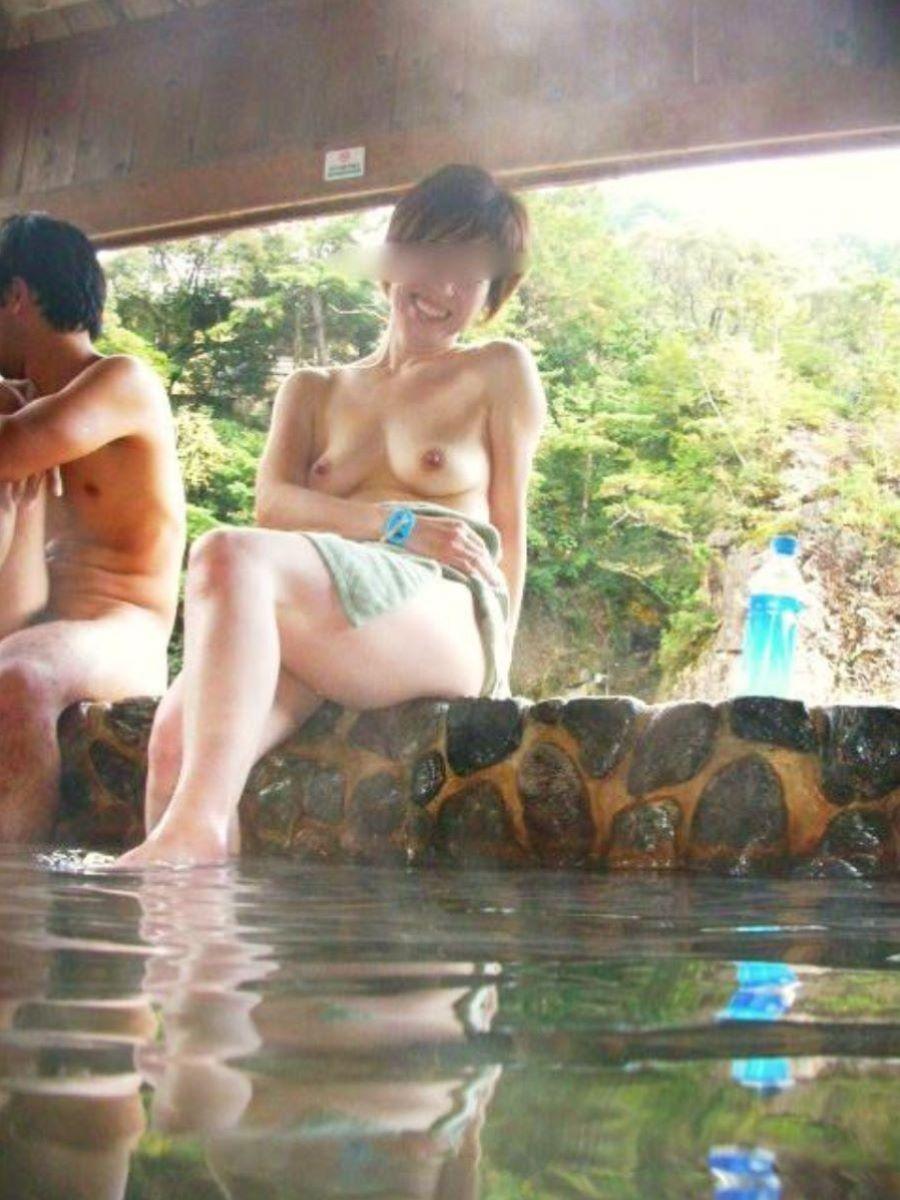 温泉旅行 素人ヌード画像 38