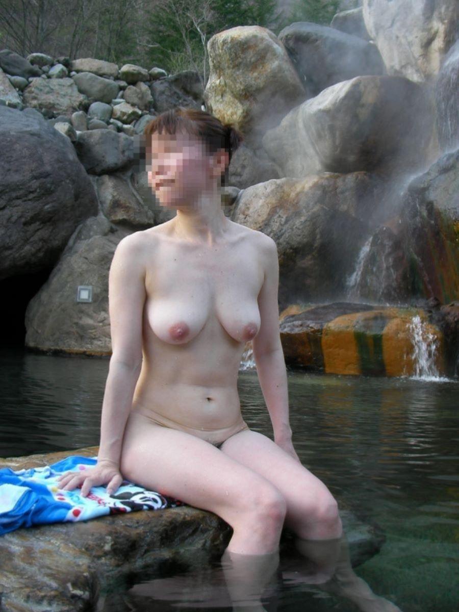 温泉旅行 素人ヌード画像 41