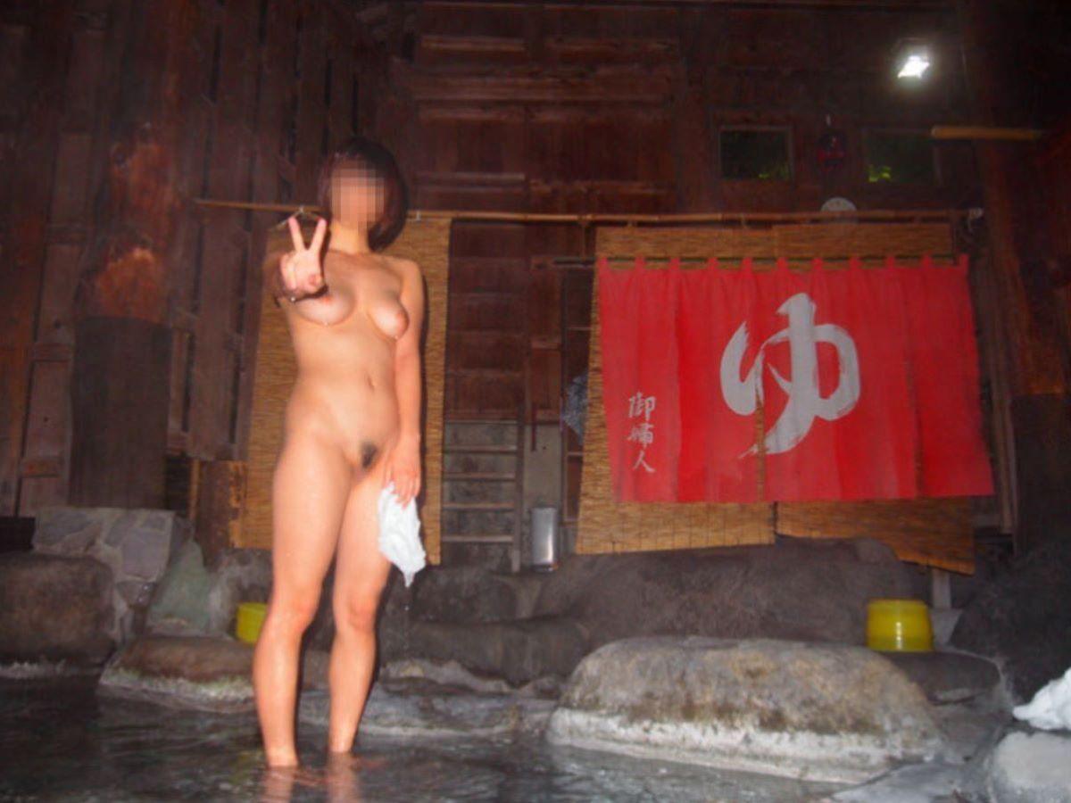 温泉旅行 素人ヌード画像 84