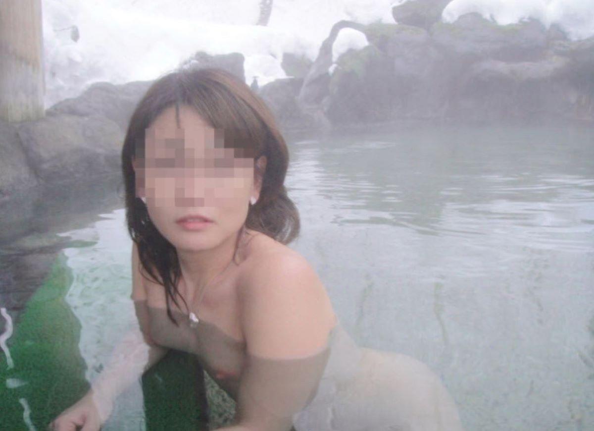 温泉旅行 素人ヌード画像 115