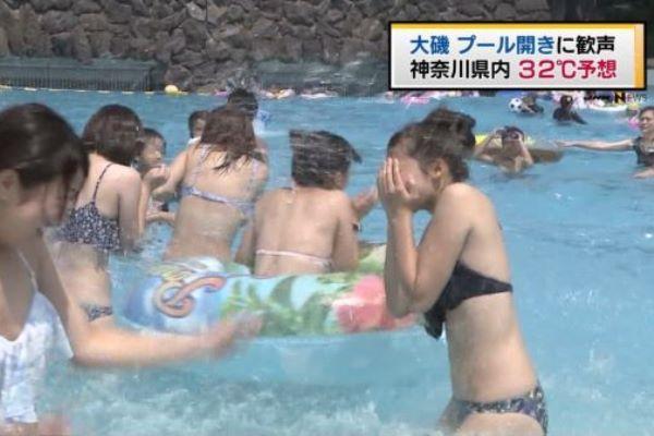 ニュース 水着 素人 おっぱい エロ画像 2