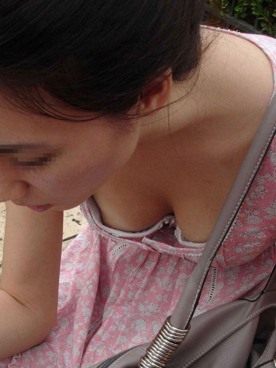 素人 乳首チラ 画像 3