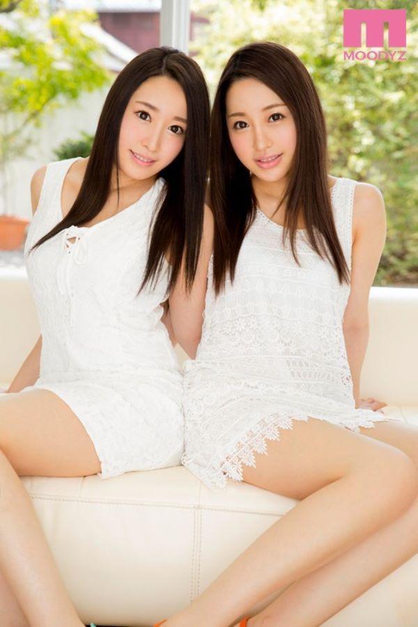 井上らん・すず 双子姉妹と逆3PなAVデビュー画像