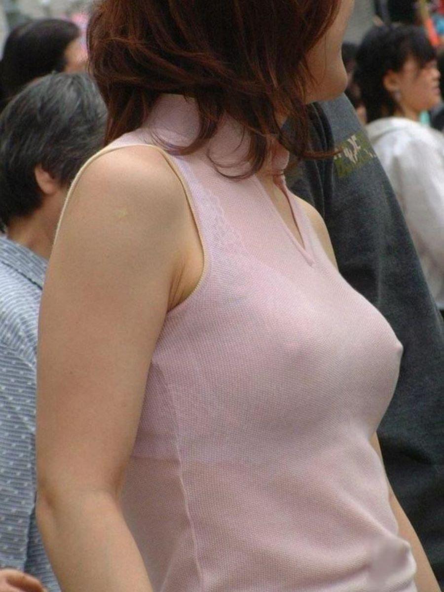 素人 胸ポチ 画像 19