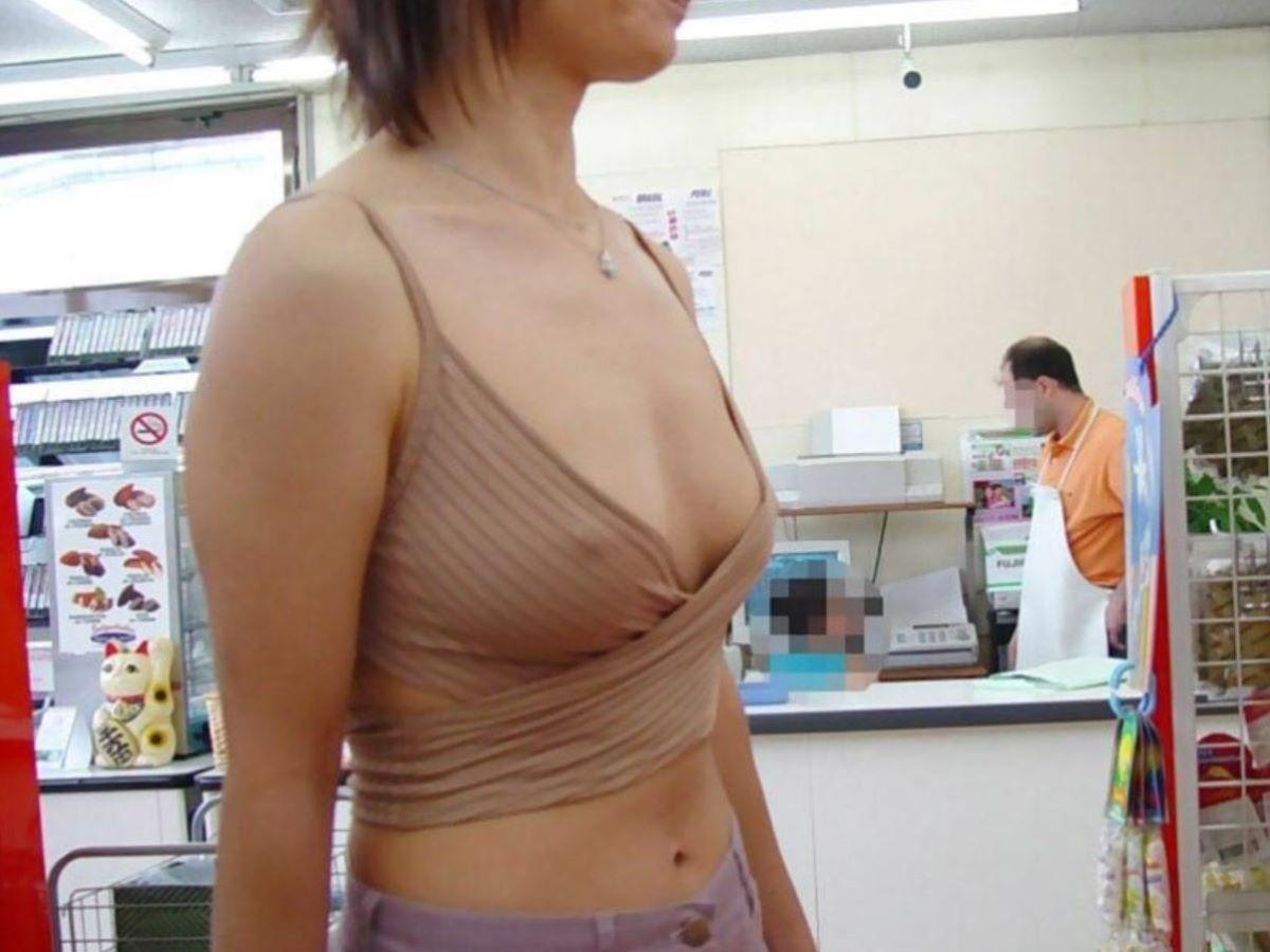 素人 胸ポチ 画像 91