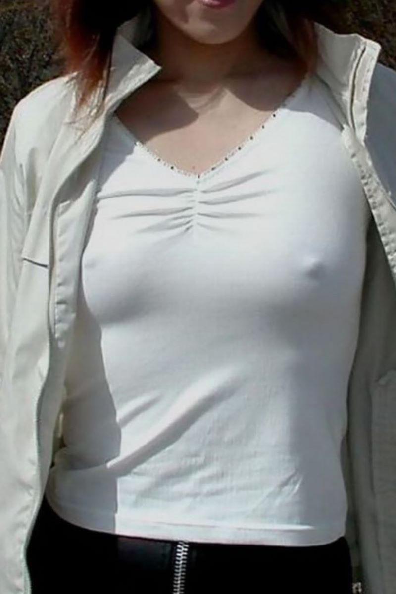 素人 胸ポチ 画像 121
