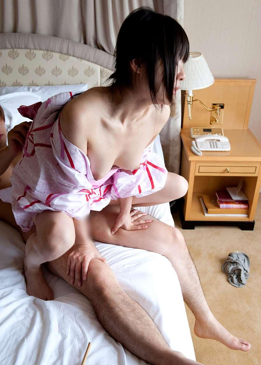 つぼみ (AV女優) 浴衣セックス画像 80