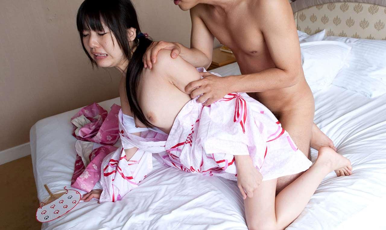 つぼみ (AV女優) 浴衣セックス画像 86