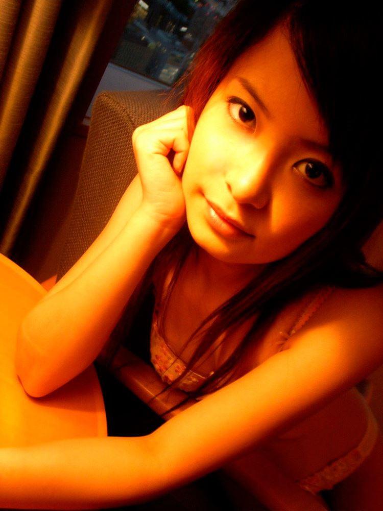 茶色コーデが可愛い女子大生の素人ハメ撮り画像 19