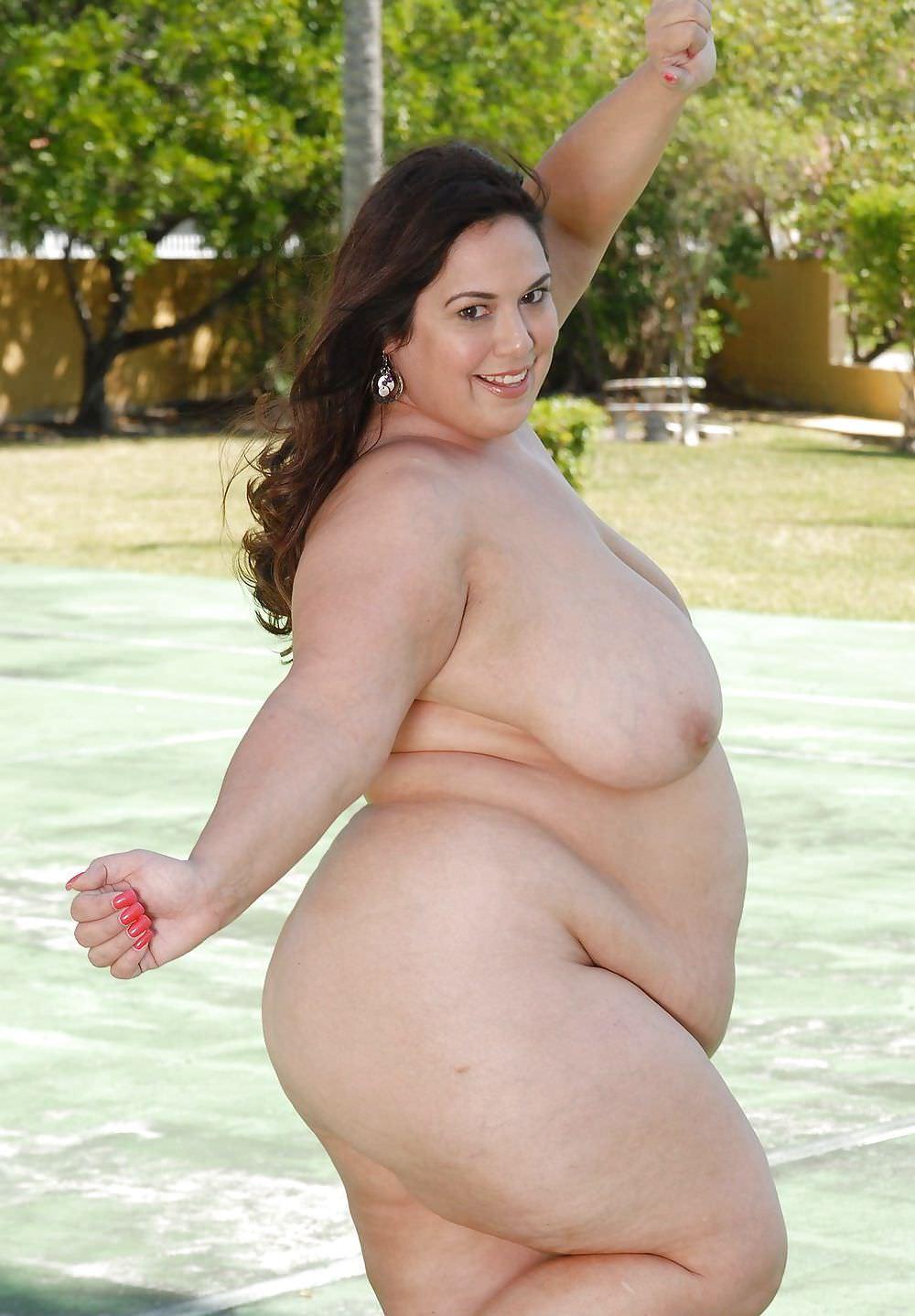 肥満の限界を超えたデブでブタな太った女画像