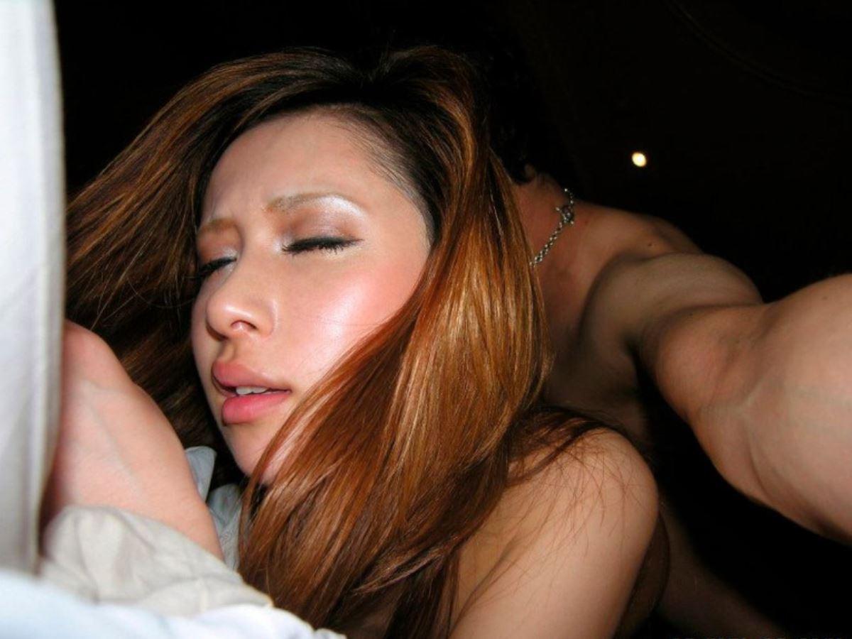 まつ毛が長いキャバ嬢ハメ撮りセックス画像 51