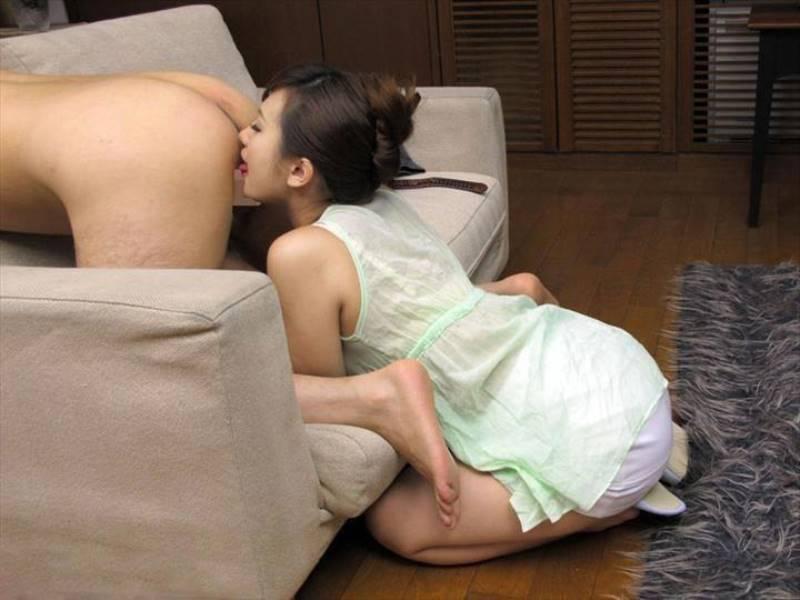 肛門を舐めるアニリングス画像 41