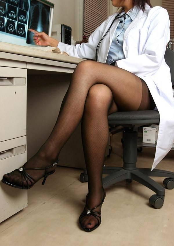 女医!!白衣がエッチな女性医師エロ画像
