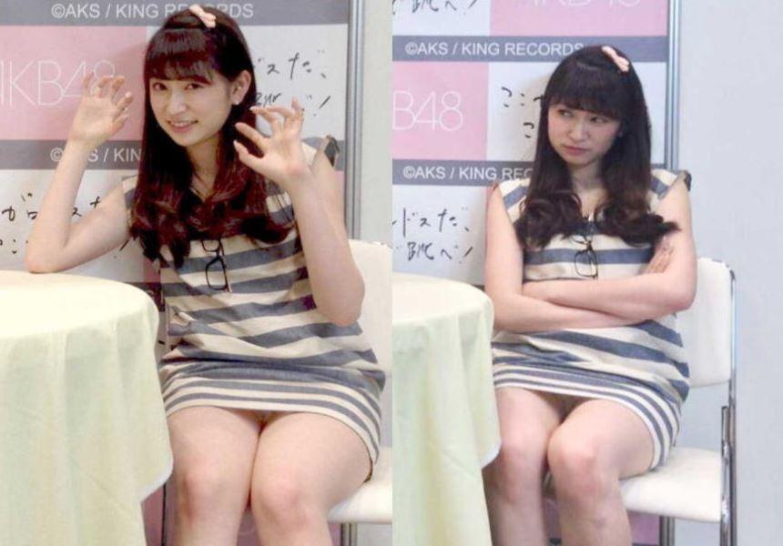 アイドルや女子アナの芸能人パンチラ画像 23