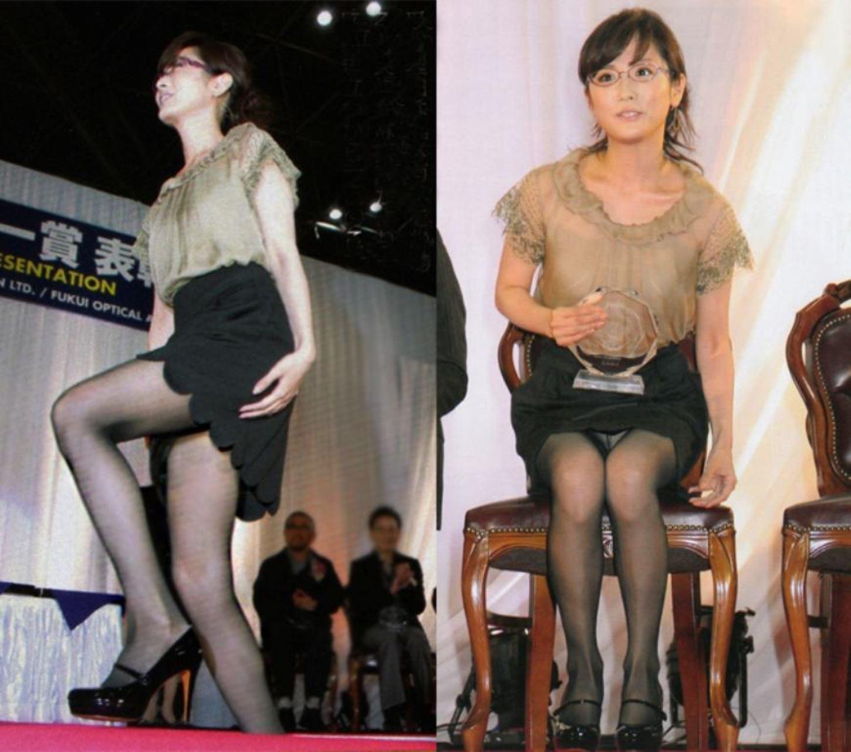 アイドルや女子アナの芸能人パンチラ画像 24