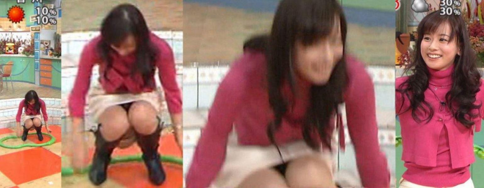 アイドルや女子アナの芸能人パンチラ画像 35