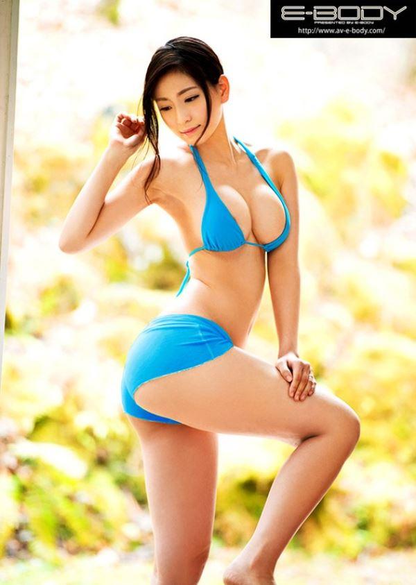 中村推菜 8頭身ボディのAV女優エロ画像