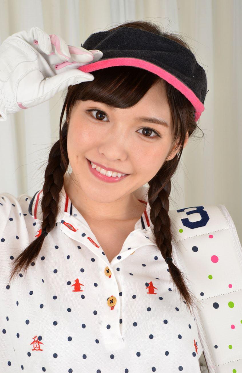橋本ありな ゴルフ女子チラリ画像 3