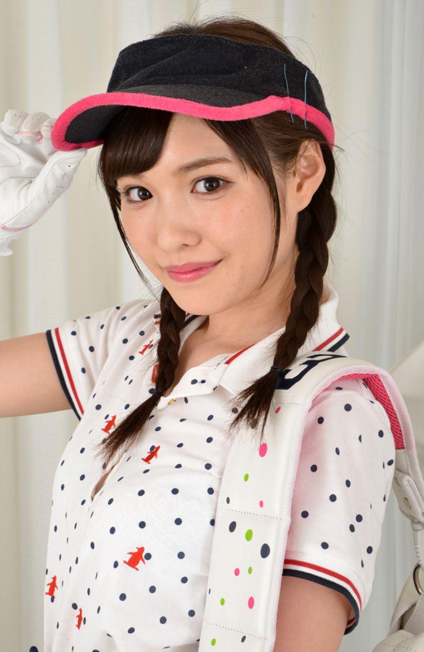 橋本ありな ゴルフ女子チラリ画像 5