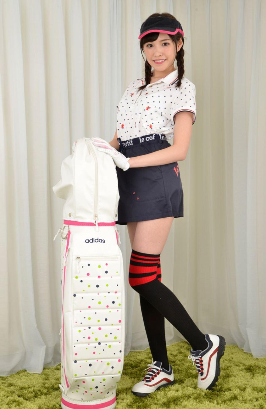 橋本ありな ゴルフ女子チラリ画像 9