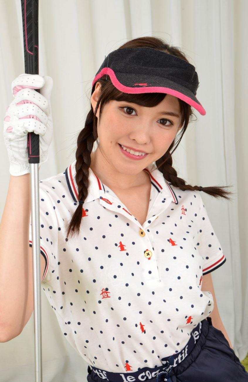 橋本ありな ゴルフ女子チラリ画像 17