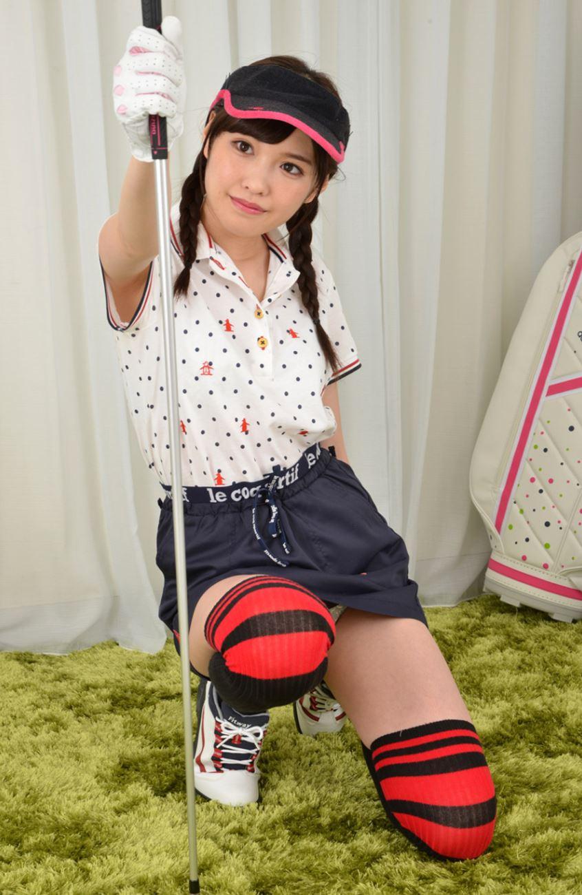 橋本ありな ゴルフ女子チラリ画像 19