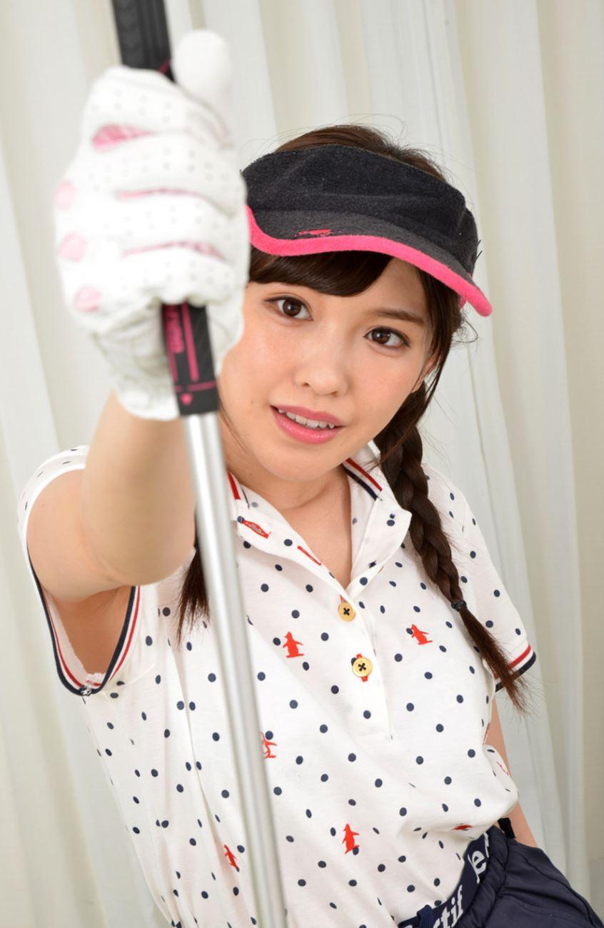 橋本ありな ゴルフ女子チラリ画像 20