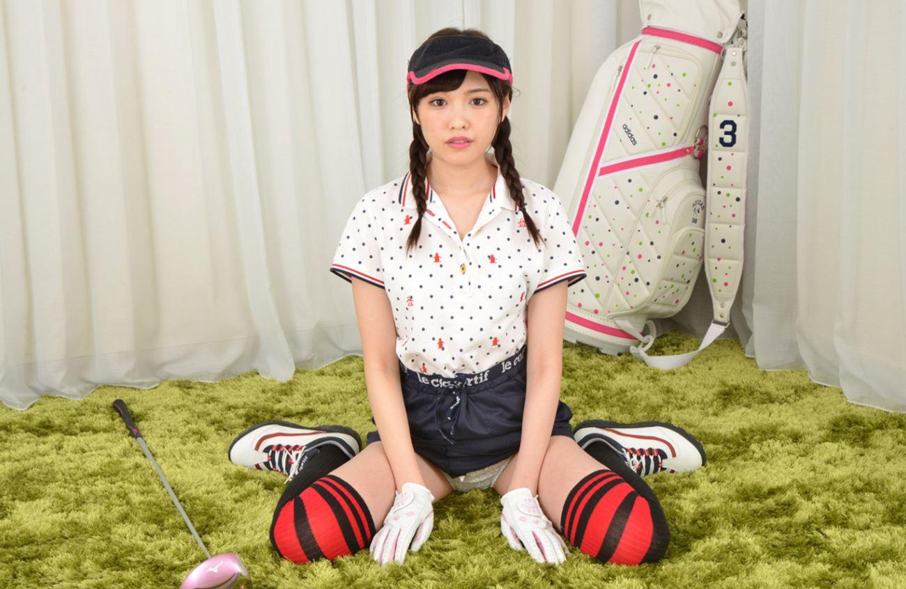 橋本ありな ゴルフ女子チラリ画像 21