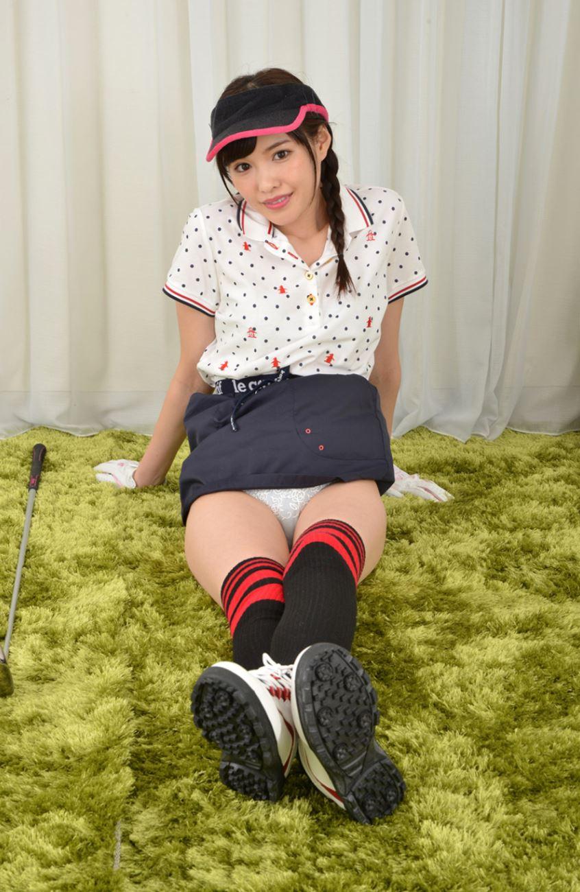 橋本ありな ゴルフ女子チラリ画像 25