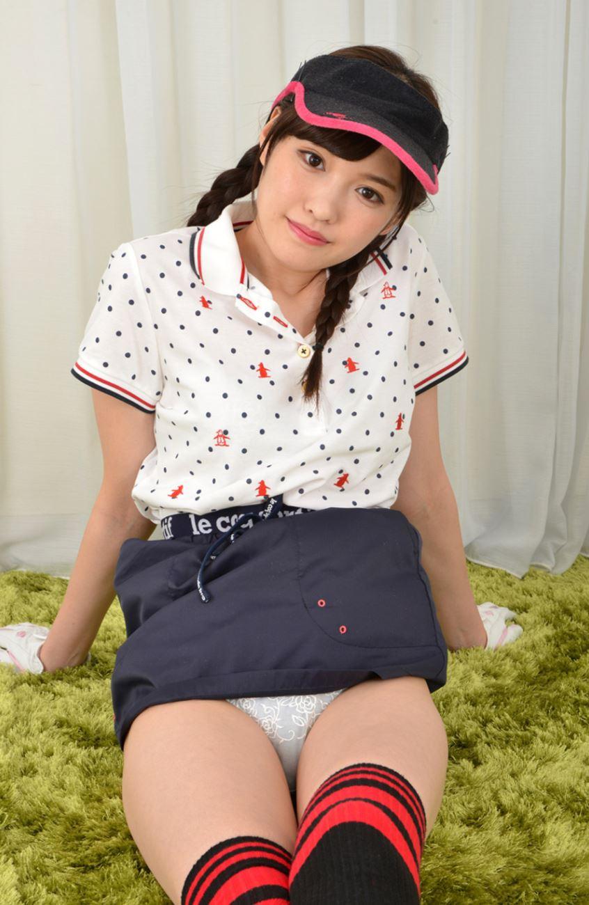 橋本ありな ゴルフ女子チラリ画像 26