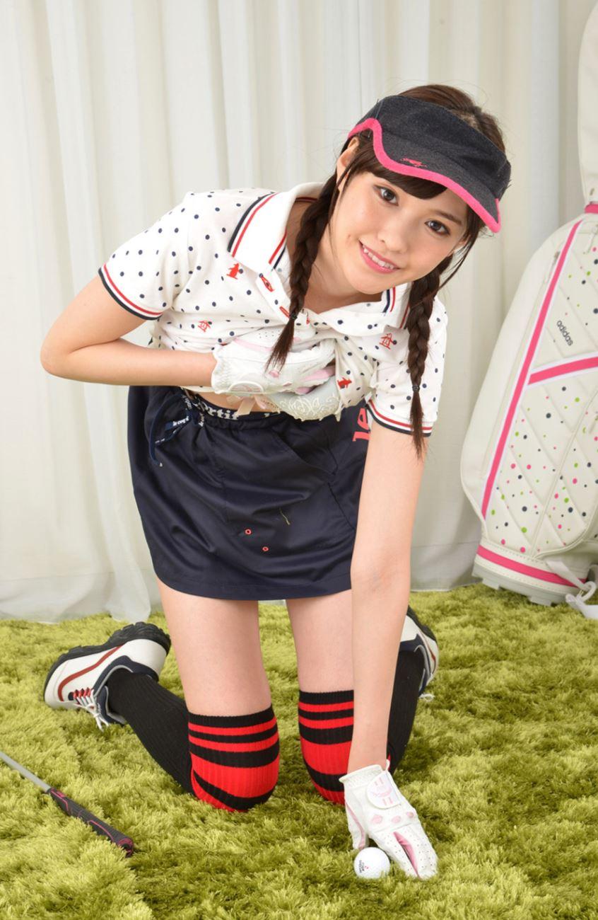 橋本ありな ゴルフ女子チラリ画像 39