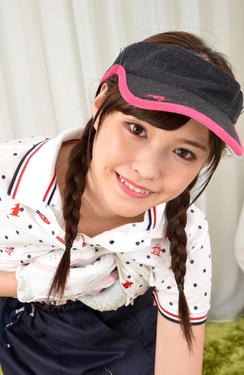 橋本ありな ゴルフ女子チラリ画像 40