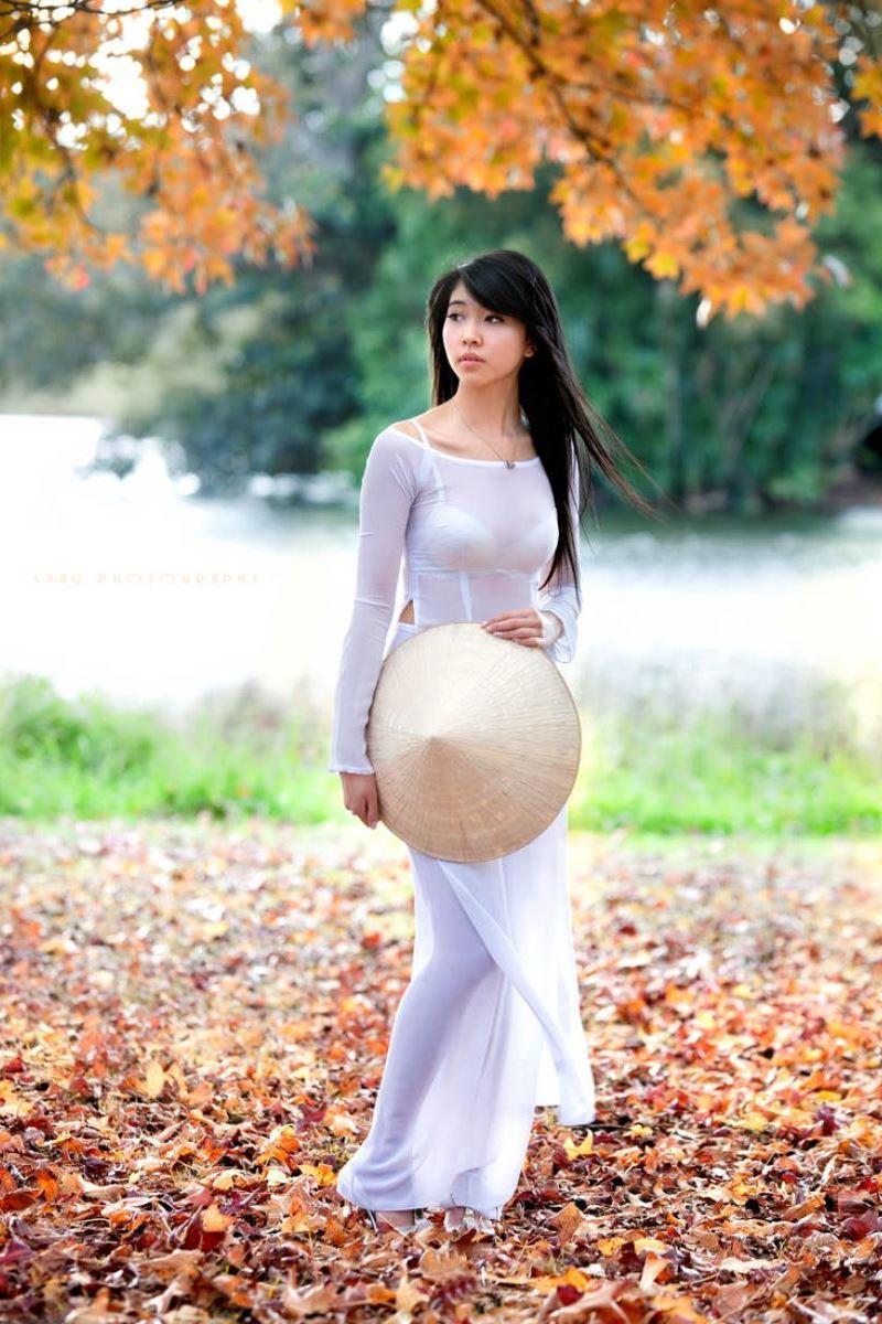 ベトナム民族衣装アオザイ画像 8