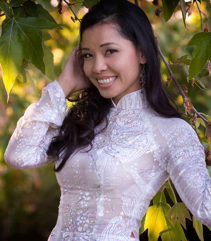 ベトナム民族衣装アオザイ画像 14