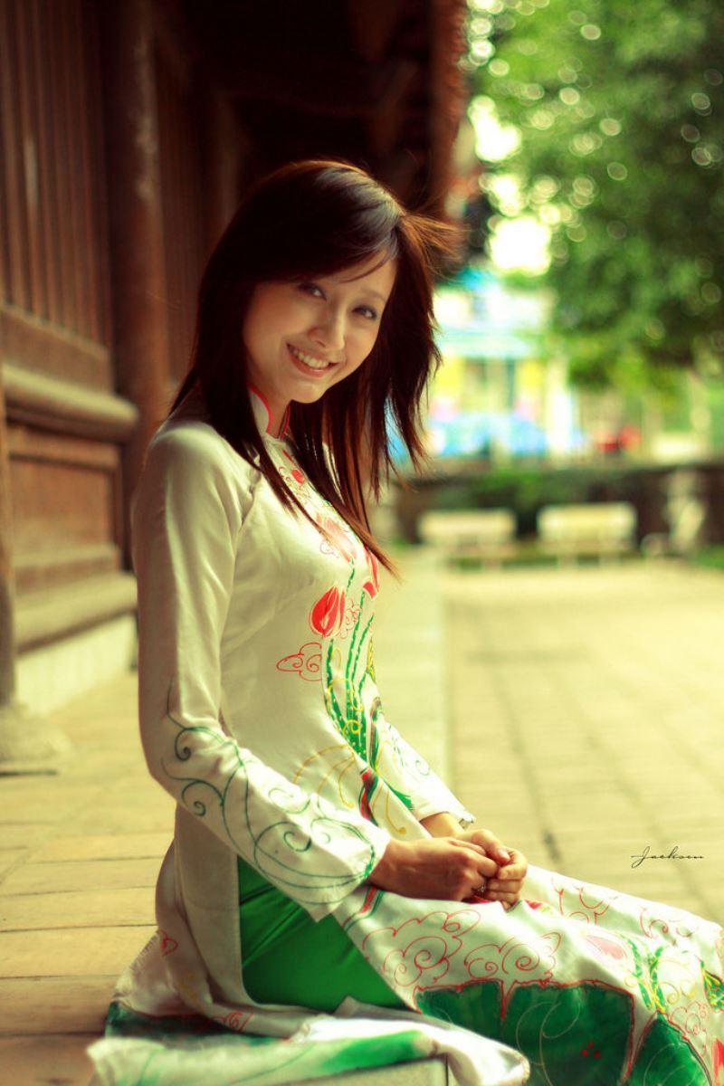 ベトナム民族衣装アオザイ画像 15