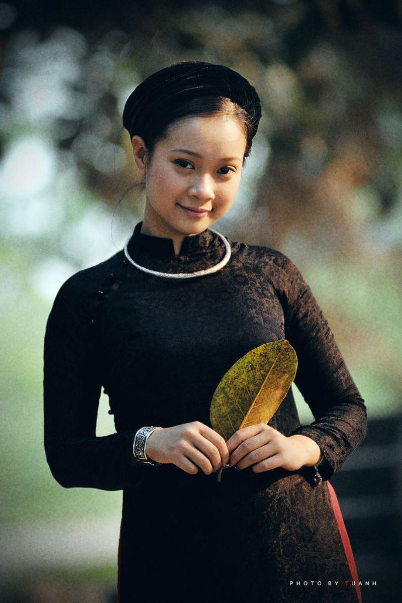 ベトナム民族衣装アオザイ画像 16