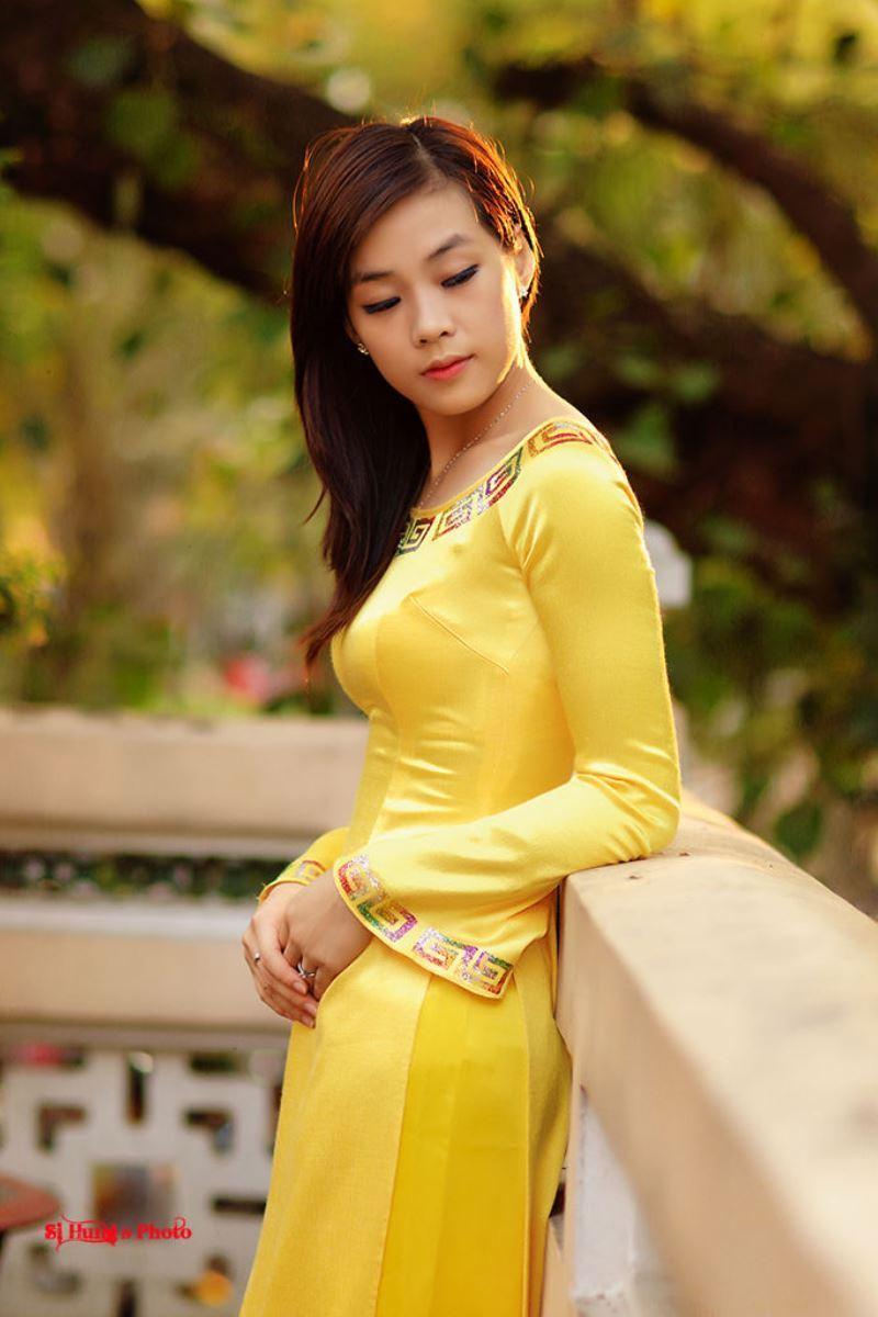 ベトナム民族衣装アオザイ画像 22