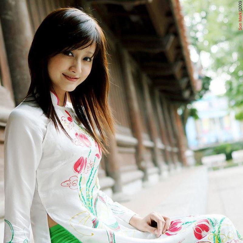 ベトナム民族衣装アオザイ画像 26